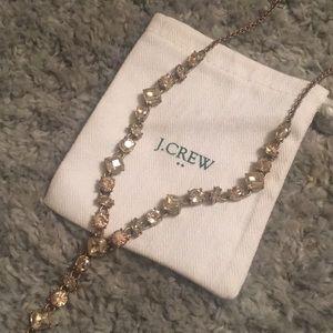 J. Crew Gemstone Necklace